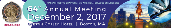 Join us Saturday, December 2nd for the 64th Annual Meeting at the Westin Copley Hotel in Boston