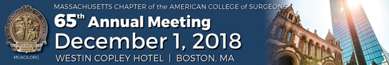 65th Annual Meeting, December 1, 2018, Westin Copley Hotel, Boston, Massachusetts